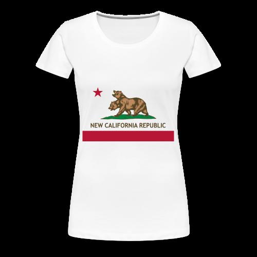 République de Nouvelle Californie - T-shirt Premium Femme