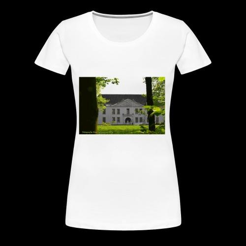 DANGAST Schloss - Frauen Premium T-Shirt