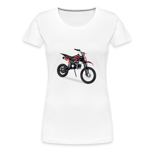 Crossbike JC125 cc Schwarz 48422D31323 - Frauen Premium T-Shirt