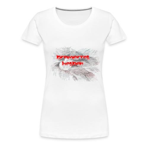Gitarre - Frauen Premium T-Shirt