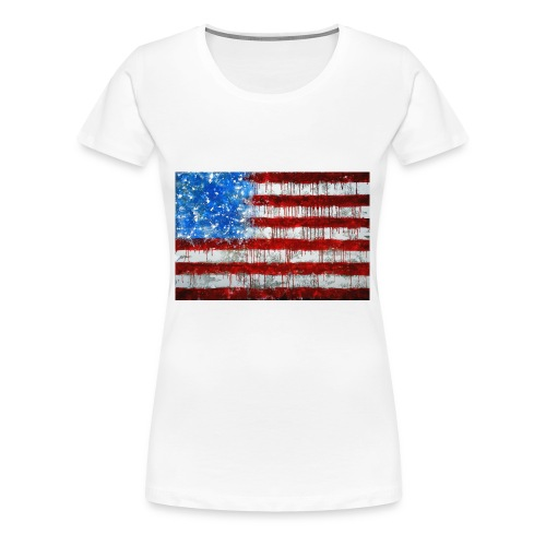 USA - Camiseta premium mujer