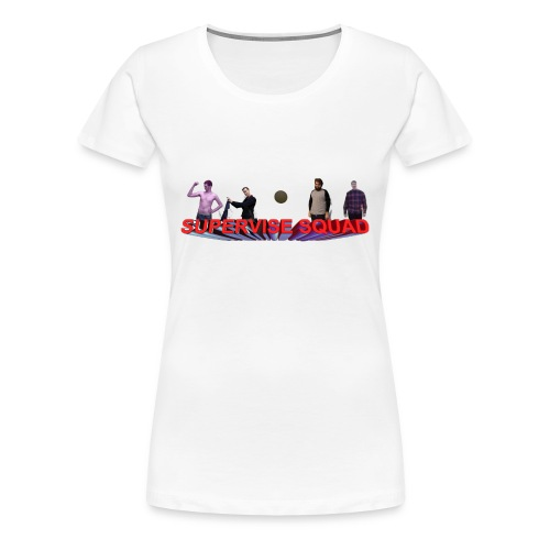 Quinton Reviews Supervise Squad - Women's Premium T-Shirt
