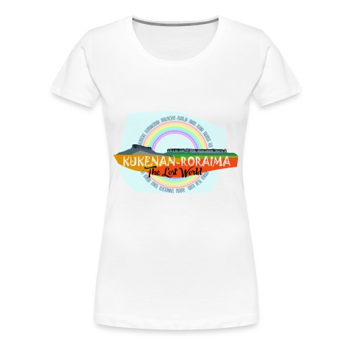 Roraima and Kukenan, The Lost World - Camiseta premium mujer