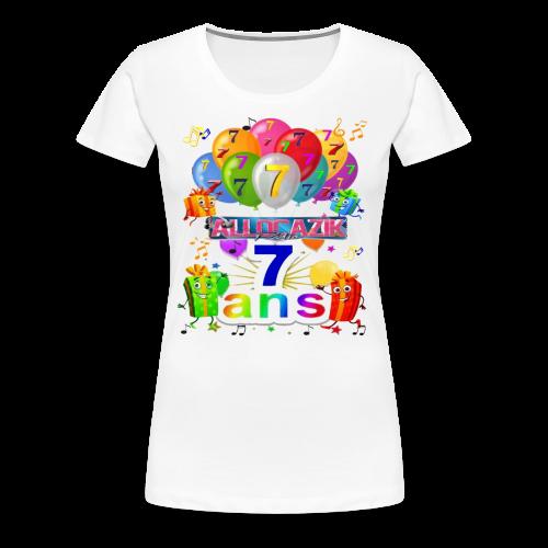7 ANS RADIO ALLOCAZIK2 1 - T-shirt Premium Femme