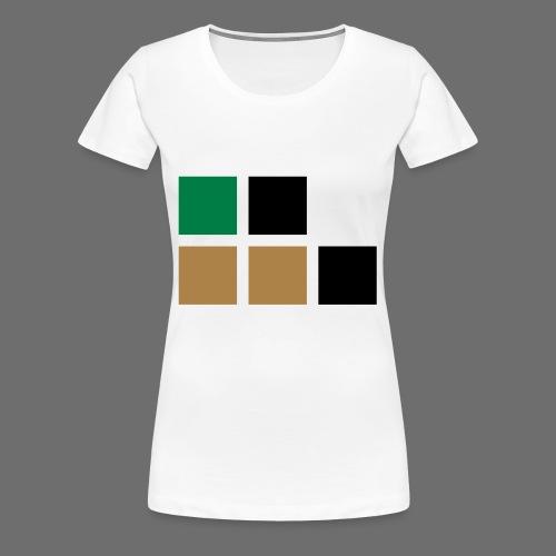 invalid_tooManyColors-svg - Frauen Premium T-Shirt