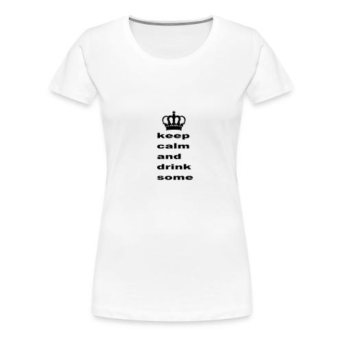 cup - Dame premium T-shirt