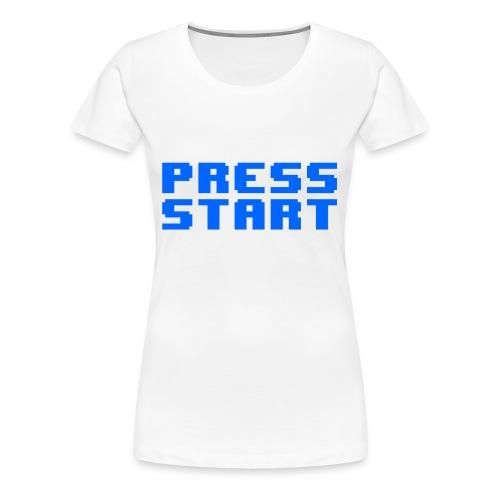 Press Start - Maglietta Premium da donna
