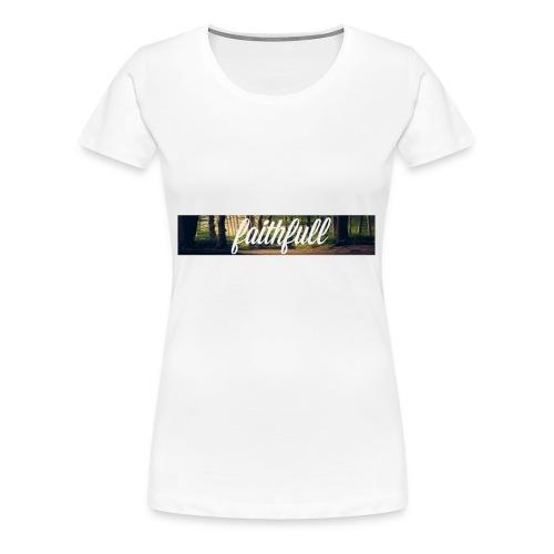 faithfullt-shirt trees - Vrouwen Premium T-shirt