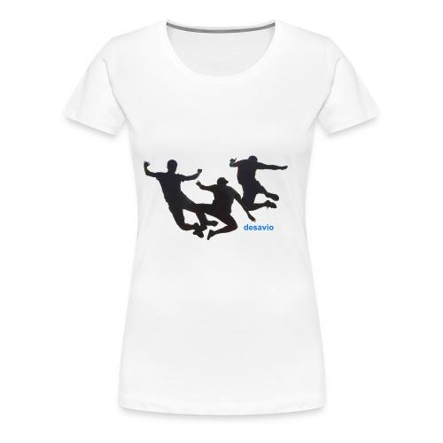 amigos juntos - Camiseta premium mujer