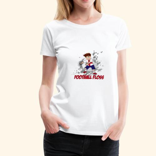England Football Floss - Women's Premium T-Shirt
