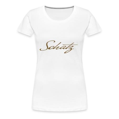 Schatz Baseballshirt - Premium-T-shirt dam