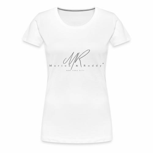 marion roddynyc grey - T-shirt Premium Femme