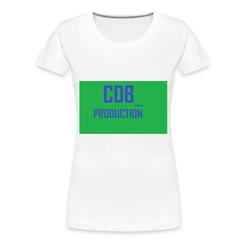 CDB_P - Premium T-skjorte for kvinner