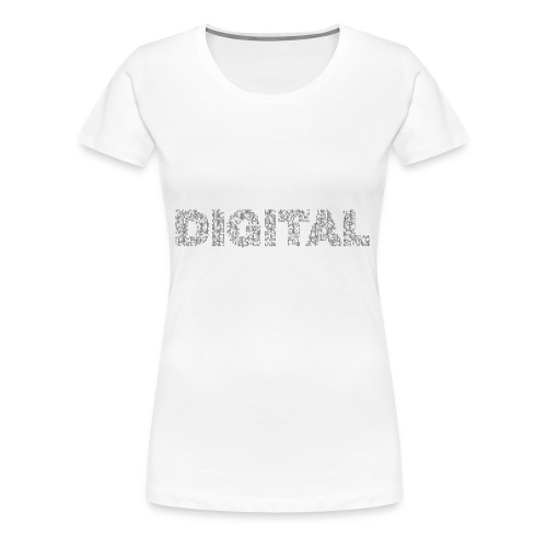 Digital - Frauen Premium T-Shirt