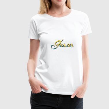 Jésus - T-shirt Premium Femme