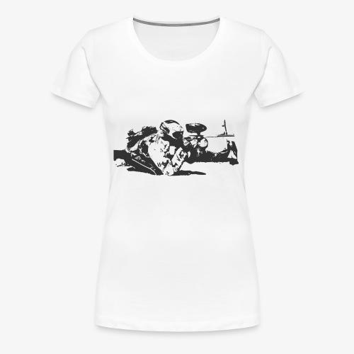 Paintball Sport - Frauen Premium T-Shirt
