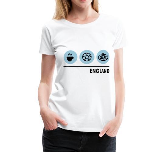 Circles - England - Women's Premium T-Shirt