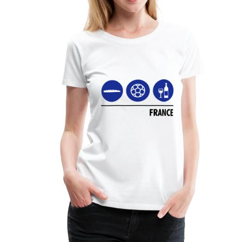 Circles - France - Women's Premium T-Shirt