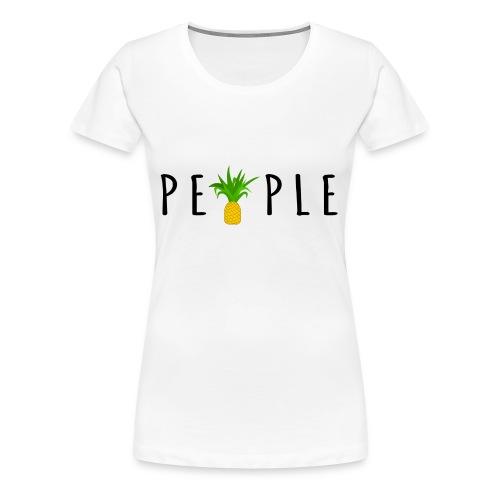 PineapplePeople - Premium-T-shirt dam