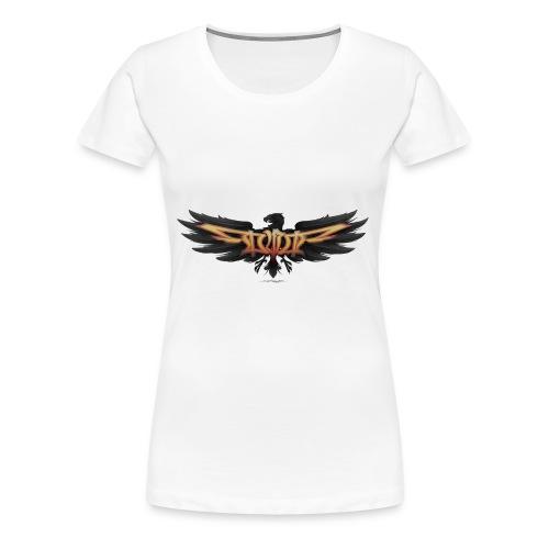 DVE Logo 02 - Der Adler - Frauen Premium T-Shirt