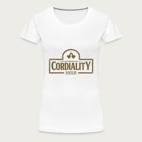 Cordiality Logo 1 - Women's Premium T-Shirt