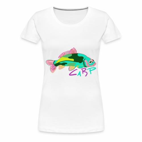 Carp Karpfen Angeln Verrückt - Frauen Premium T-Shirt