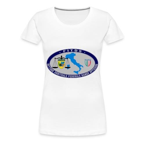 Logo SAFRO - Maglietta Premium da donna