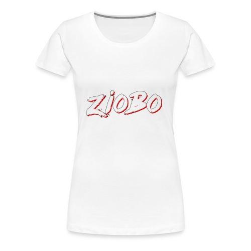 white ziobo - Women's Premium T-Shirt