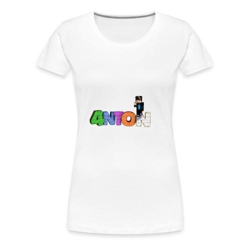 4nton Sitzend - Frauen Premium T-Shirt