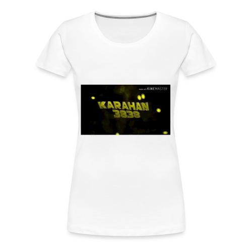 Karahan383 8 T-Shirt - Frauen Premium T-Shirt