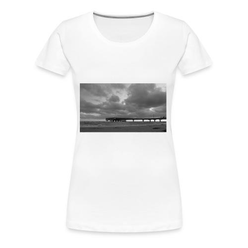 Heiligenhafen Seebrücke - Frauen Premium T-Shirt