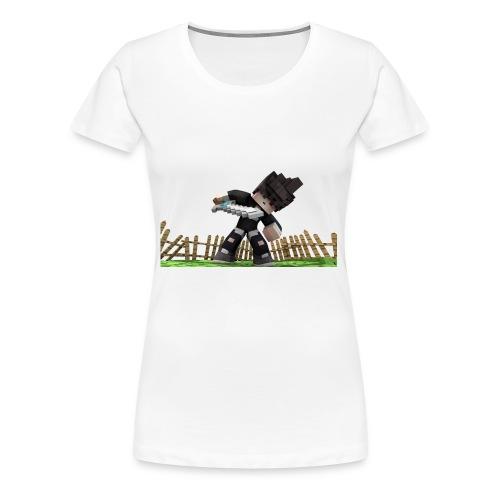 Ghoul Skin Render - Frauen Premium T-Shirt