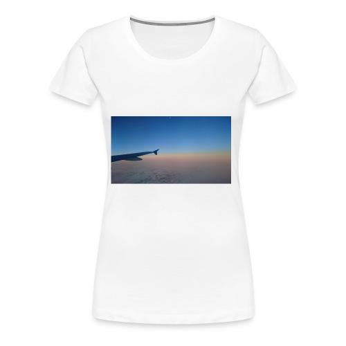 Sonnenaufgang überm Mittelmeer - Frauen Premium T-Shirt