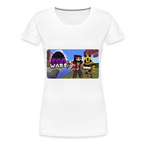 EggWars Manu y Massi - Camiseta premium mujer