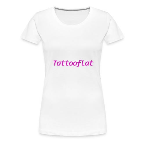 Tattooflat T-shirt - Women's Premium T-Shirt