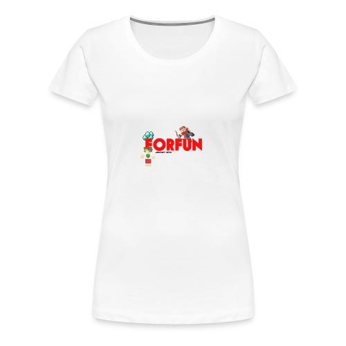 T-shirt Server ForFUn - Maglietta Premium da donna