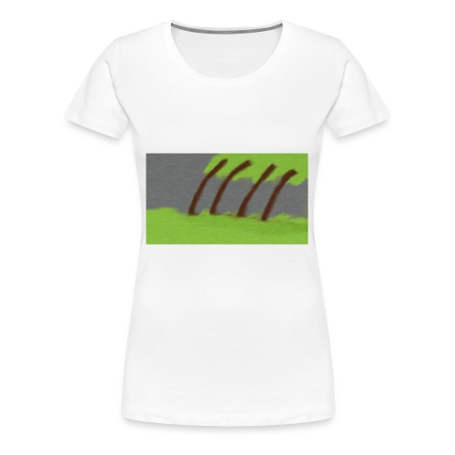 Storm in the Wind - Vrouwen Premium T-shirt