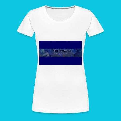 buismat bleu - Vrouwen Premium T-shirt