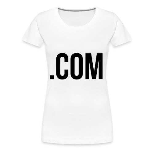 dottcom - Women's Premium T-Shirt
