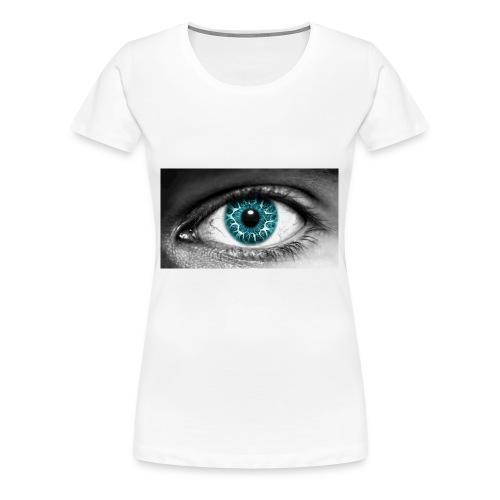 eyes_2 - Vrouwen Premium T-shirt