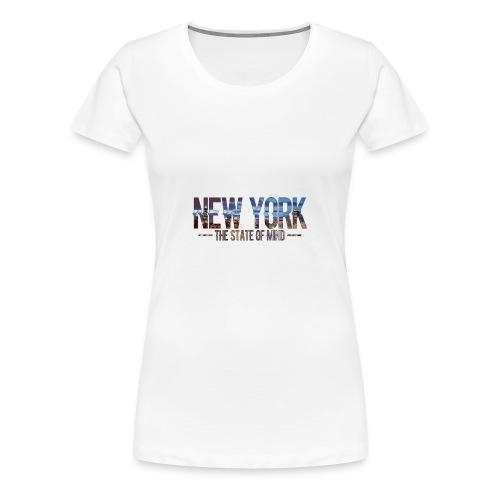 New York - The state of Mind 2 - Frauen Premium T-Shirt