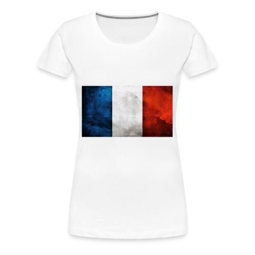 France Flag - Women's Premium T-Shirt