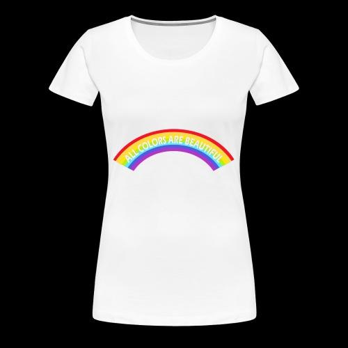 All colors are beatiful - Frauen Premium T-Shirt