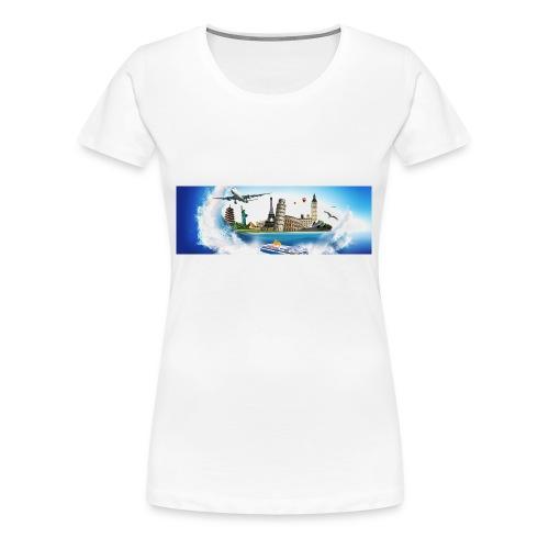 Tazza Viaggi Non Solo - Maglietta Premium da donna