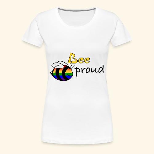 bee proud - Frauen Premium T-Shirt