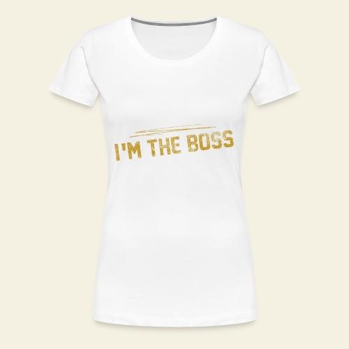 BAVAGLINO PRINCESS - Maglietta Premium da donna