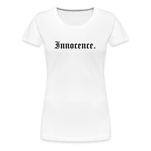 Innocence Old English Style - Frauen Premium T-Shirt