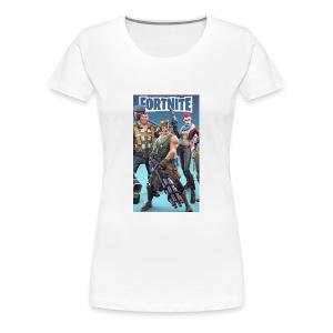 Fortnite 527b0040 ef81 3f12 93f4 2bfc1511f988 - Women's Premium T-Shirt