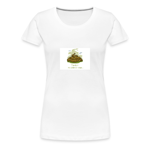 Its a poopie-day today. - Vrouwen Premium T-shirt