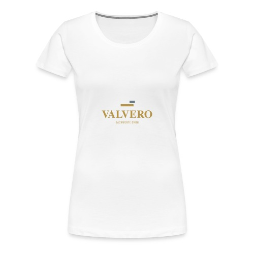 Valvero Sachwerte GmbH neues Logodesign - Frauen Premium T-Shirt
